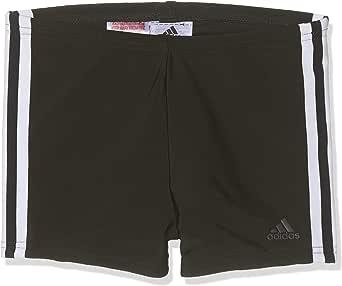 adidas Boys' FIT BX 3S Y Swimsuit, Black/White, 1314