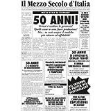 Bombo Biglietto Auguri Giornale Compleanno 50 Anni Amico