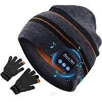 puersit Cappello Bluetooth,Wireless Cuffie Incassato Altoparlanti Stereo HD,Bluetooth Beanie per Parlare a Mani Libere…