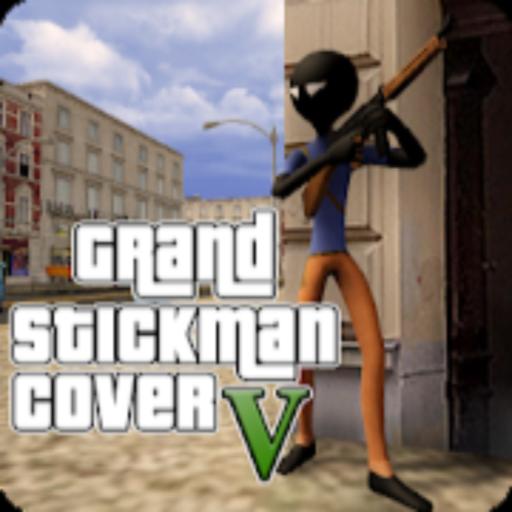 Grand Stickman Cover Auto V (Auto Free Theft Grand V)