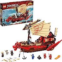 LEGO 71705 Ninjago Le QG des Ninjas, Jouet de Vaisseau de Combat