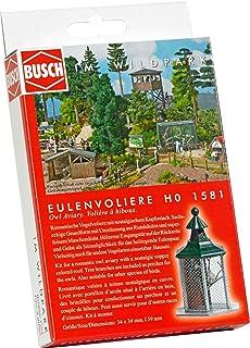 Busch 1582 - Bausatz Kleintierstall H0 aus Wildpark-Serie
