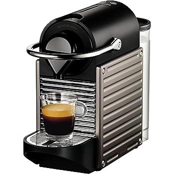 Nespresso Pixie - Machine à café automatique - Titane Électrique - Krups YY1201FD