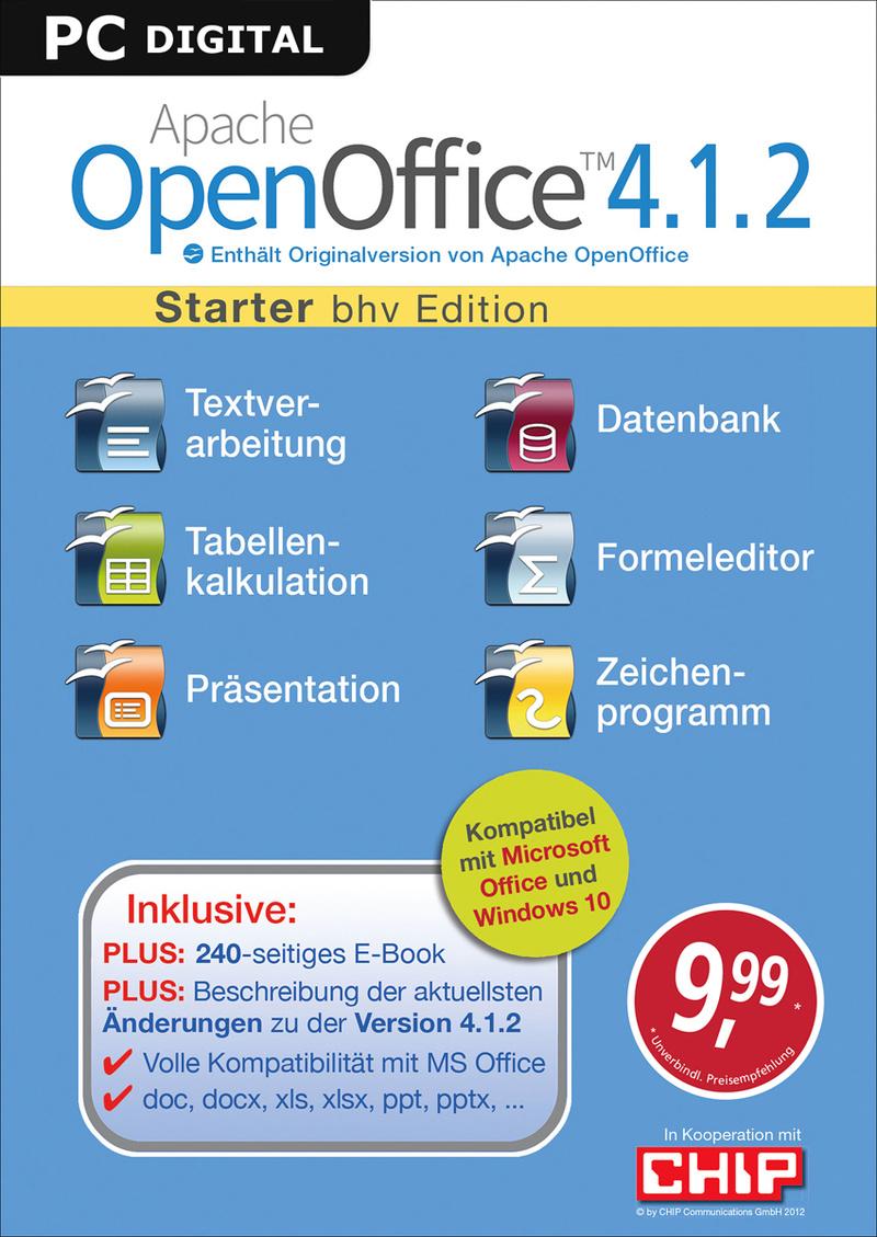 Apache OpenOffice 4.1.2 - Starter [Download]