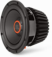 "JBL S3-1224 12"" (300mm) Auto-HiFi Audio Subwoofer Lautsprechersystem - Schwarz/Orange"