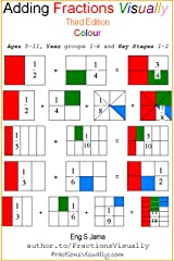 Adding Fractions Visually Third Edition Colour Kindle Edition