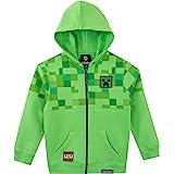 Minecraft - Sudadera con Capucha para Niños - Creeper