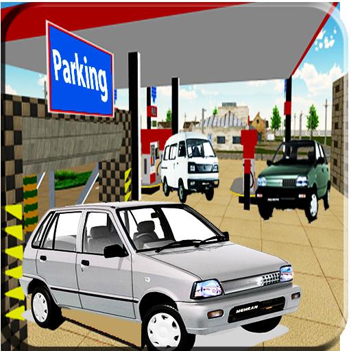 Pakistan Mehran Car Parking Bolan Gas Station 2018