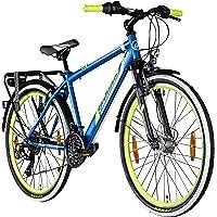 "Galano Adrenalin 26 Zoll Mountainbike Hardtail MTB Fahrrad 26"" Jugendliche 21 Gang StVZO"