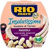 6X Rio Mare Insalatissime Fagioli e Tonno Mix of Beans and Tuna 160g Ready Food Tuna Salad