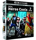 COFFRET SUPER HEROS 4K UHD - Hancock / Spider-man : Homecoming / Men in Black - Exclusif Amazon