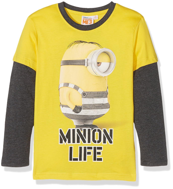 c2fdcbc592960 LES MINIONS T-Shirt Garçon  Amazon.fr  Vêtements et accessoires