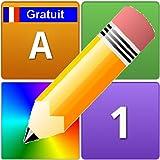 Lettres Nombres Couleurs Gratuit en Français