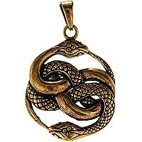 Kiss of Leather 135 - Ciondolo a forma di serpente, in bronzo
