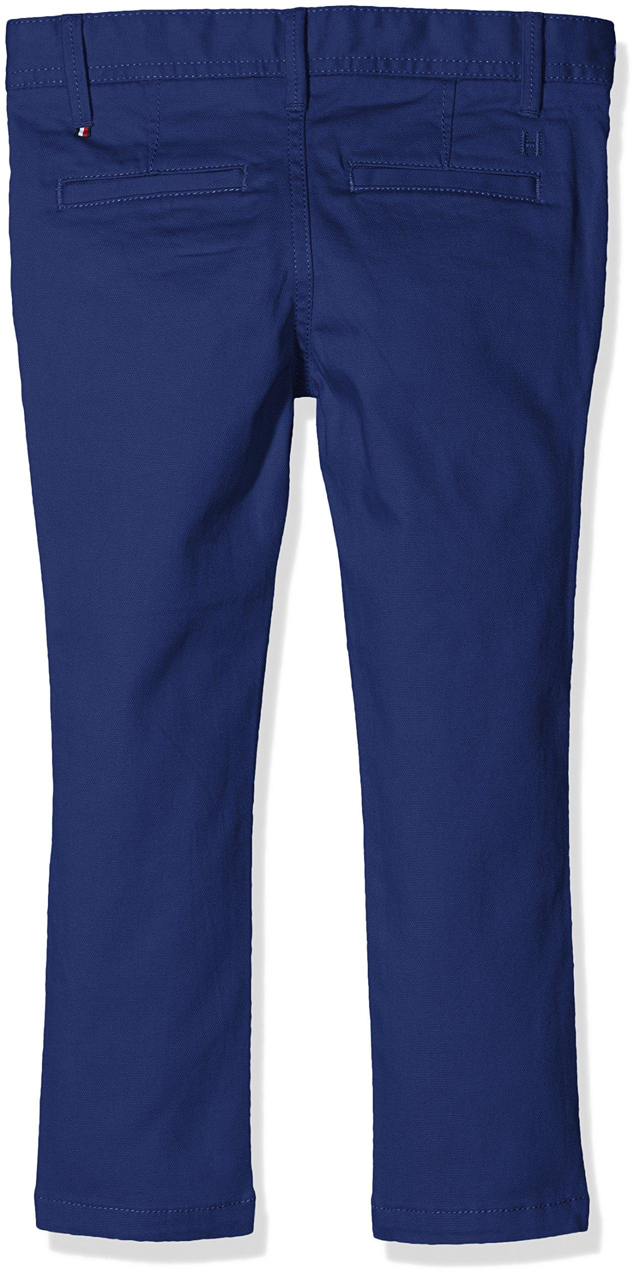 Tommy Hilfiger Ame Skinny Chino Stcd PD Pantalones para Niños