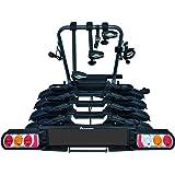 Peruzzo 708/4 Pure Instinct 4 fietsendrager trekhaak 4 fiets, zwart, 100 x 80 x 70 cm