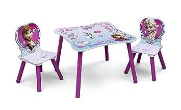 Disney Frozen Set Tavolino e 2 Sedie in legno: Amazon.it: Casa e ...