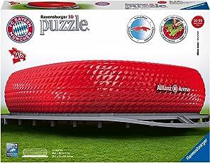 "Ravensburger Erwachsenenpuzzle 12526"" Allianz Arena 3D-Puzzle, bunt"