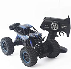 ToysCentral Climbing Rally Monster Truck Rock Crawler with Remote Control, 1:14 Scale Four Wheel Drive, 2.4 Ghz, Ready to Run