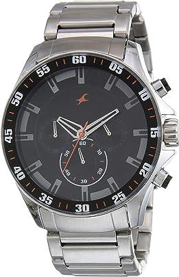 Fastrack Chrono Upgrade Analog Black Dial Men's Watch NM3072SM04/NN3072SM04