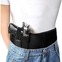 HBselect Fondina Pistola Nascosta Porta Pistola Multifunzionale Fondina per Pistola Universale Gun Holster Adatto a Tutte le Pistole e Softair Fondine da Cintura in Neoprene Elastico Cintura Tattica