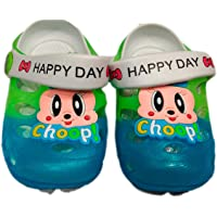 T R TRADERS Kids Lighting Clogs (for 10 Month to 2 Years)