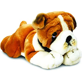 Keel toys sd4566 peluche cane bulldog 30 cm keel for Cappottino cane amazon