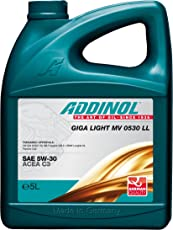 Addinol GIGA LIGHT MV 5W-30 LL C3 Motorenöl, 5 Liter