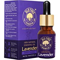 Old Tree Lavender Essential Oil for Skin, Hair and Dandruff Care, 15ml
