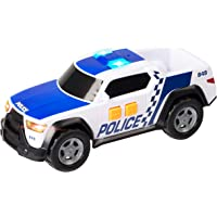 Teamsterz TZ Plastic Small Light and Sound Police Pick Up (White)