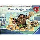 Ravensburger Disney Pack de 2 Puzzles Vaiana et Amis 24 pièces, 09156
