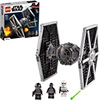 LEGO 75300 Star Wars TIE Fighter impérial Jouet avec Stormtrooper et Figurines de la Saga Skywalker