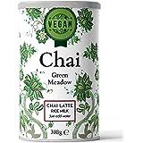 Nordic Roast | Vegan Chai Latte Tea | Green Meadow | 398g | Instant chai thee poeder mix, gekruide zwarte thee met melk, om e