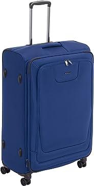 AmazonBasics - Premium-Weichschalen-Trolley mit TSA-Schloss, erweiterbar, 74 cm, Blau