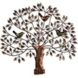 Collectible India Metal Wall Hanging Art Sculpture (29 x 28 inch, Multicolour) (DFMW295)