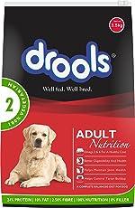 Drools 100% Vegetarian Adult Dog Food, 3kg