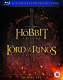 Hobbit Trilogy/The Lord Of The Rings Trilogy: Extended... (30 izione: Regno Unito] [Import italien]
