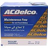 ACDelco Battery for Car Capacity 50 Ah