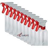 ÄUGEN GmbH Sproeiflesjes, 10 stuks à 500 ml, rondom verbeterde sproeikoppen, leeg, transparant, helder