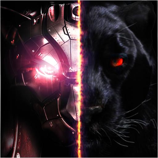 Panther Robot Transformation Gangster Crime City Battle (Transformers Transformation Bumblebee)