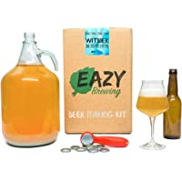 Kit de Brassage 5 Litres Bière Blanche Belge - Witbier - Coffret Cadeau Brasser sa Bière Artisanale Maison - NOTICE EN…