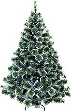 HENGMEI PVC Weihnachtsbaum Tannenbaum Christbaum Grün künstlicher mit Metallständer ca. Spitzen Lena Weihnachtsdeko