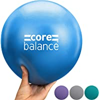 Core Balance Soft Pilates Ball 23cm / 9 Inch, Small Anti Burst, Yoga Exercise Fitness Physiotherapy Physical Training…