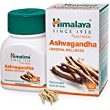 Himalaya Ashwagandha General Wellness |Rejuvenates mind & body | Tablets - 60 Count