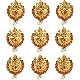 Sanjog Embellished Southern Bling Heavily Temple Hair Jewelery Choti Jadai Billai Indian Hair pin, Hair Decoration Hair Brooc
