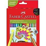 Faber-Castell Comfort Keçeli Kalem 24'lü, 6 Neon - 6 Metalik - 12 Klasik
