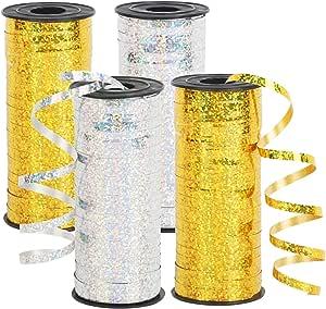 CINMOK 2Roll Weihnachten Schleifenband Gr/ün Geschenkband 50Yard Weihnachtsband Organza Band Weihnachts Dekoband Metallic Glitterband Bastel f/ür Geschenk Verpackung DIY Handwerk Valentinstag Dekoration