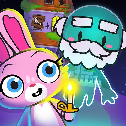 Main Street Pets Haunted Village - Ghost Town Friends Pretend Games (Fairytale Halloween Town)