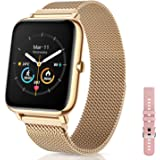 """CanMixs Smart Watch for Women Men, 1.4"""" Touch Screen Fitness Tracker Watch with Heart Rate Sleep Monitor IP67 Waterproof Acti"""