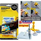 Gadget Zone UK® Windshield Repair Kit - Windshield Crack Repair Kit with Windshield Repair for Cars - Glass Chips and…